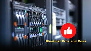 Pros and cons – BlueHost Hosting